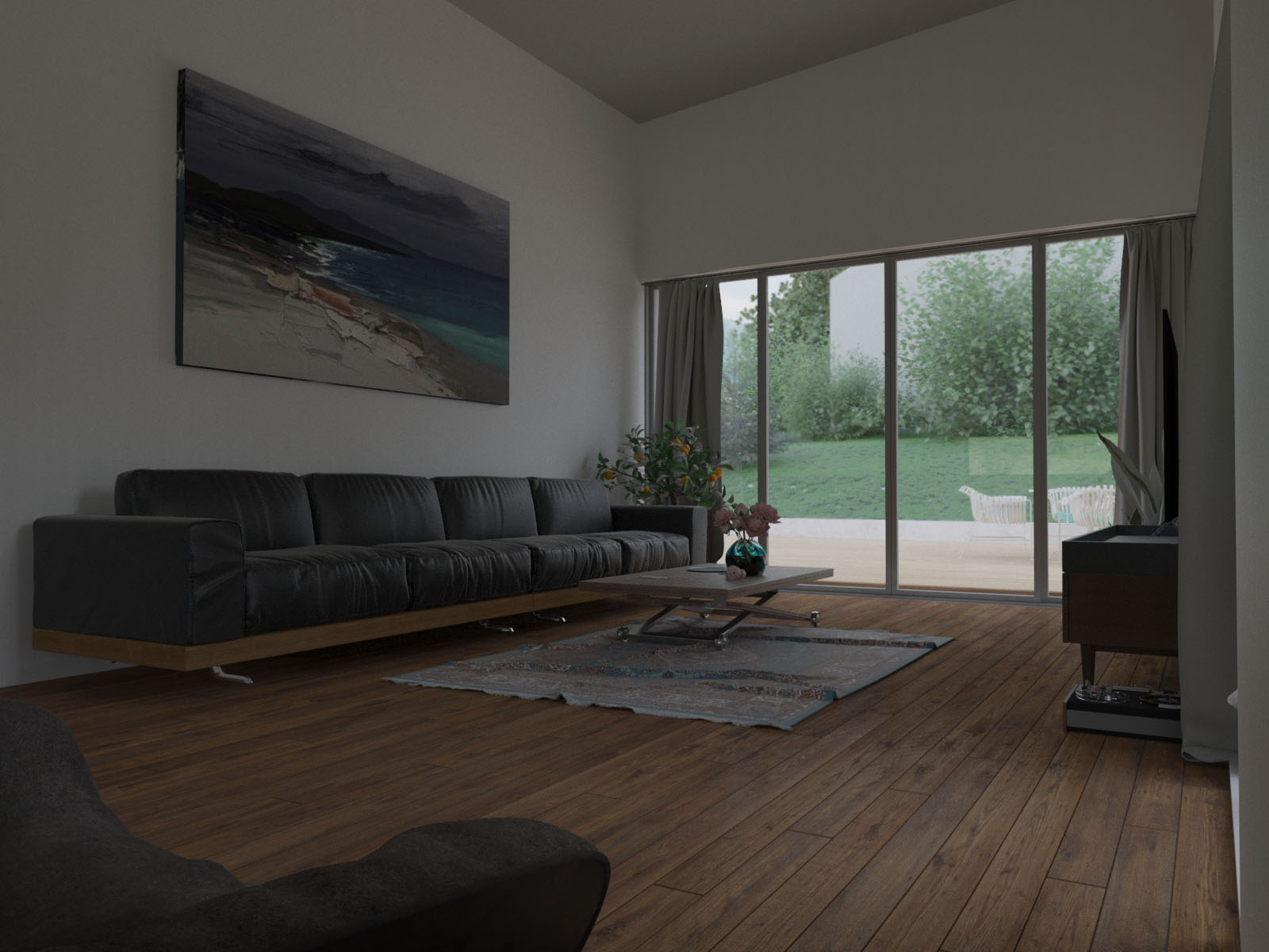 3ds max визуализация интерьера