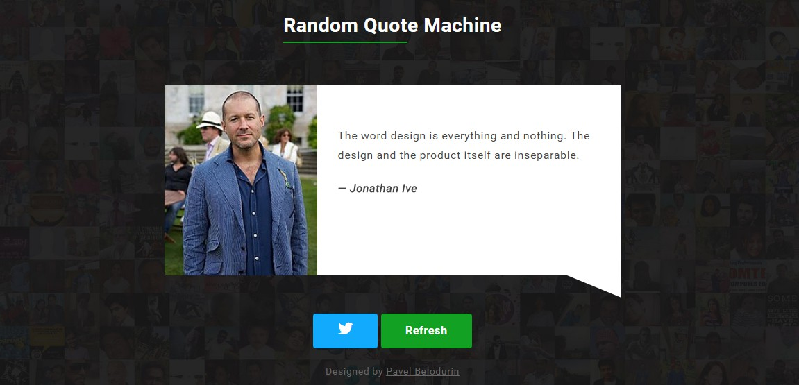 Random Quote Machine