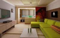 Интерьер дизайн зала с балконом