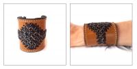 Плетёные браслеты из кожи своими руками 64