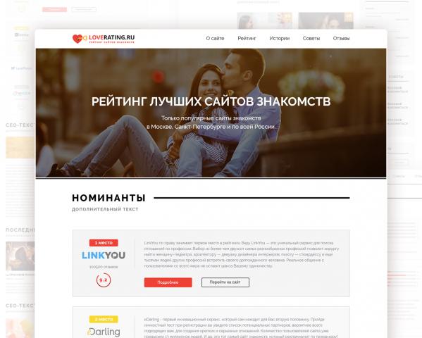 Рейтинг Знакомств Украина