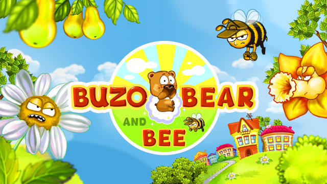 игра Buzo Bear and Bee
