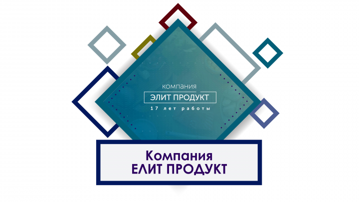 Презентация, моушн графика компании EliteProduct